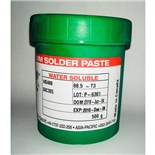 AIM Metals WS488 SAC305 Water Soluble Solder Paste, Type 3, 500 Gram Jar