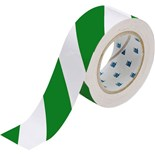 "Brady 132436 Brady Floor MarkingTape 2""x 100' Green and Whi"