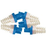 Platinum Tools 100030B-C Strain Relief for EZ-45 CAT6 Connectors Pkg-50 Color Blue