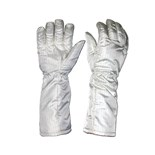 "Transforming Technologies FG3902 ESD-Safe Hot Gloves, 16"", Medium, Pair"