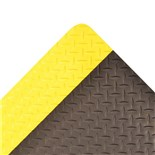 Notrax 979 Saddle Trax™ Anti-Fatigue Floor Mat, Black/Yellow, 2' x 3' x 1""