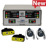 EMIT 50538 Zero Volt Continuous  Monitor with Two Wrist Straps