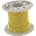 Alpha Wire 5856-100-YL Hook Up Wire 26 Awg Yellow