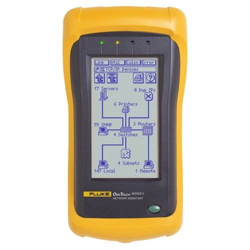 Fluke Networks OneTouch™ Series II Network Assistant | JENSEN Tools + Supply