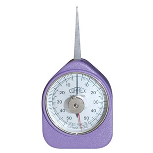 250R CALIBRATED Correx Force Gauge, 25-250 cN, Round Tip, Calibrated w/o Data