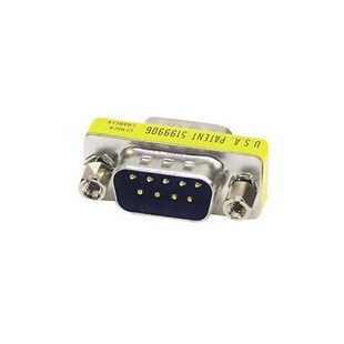 Smart Cable 709S M/M Gender Changer SlimLine DB9 Male To DB9 Male
