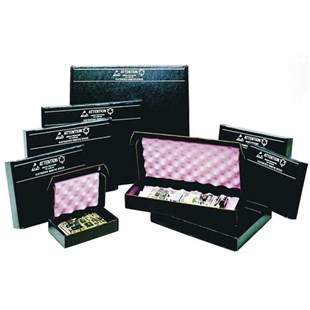 """Conductive Containers Inc. 3500-10 CorRec-Pak® Conductive Shippers with Foam 15-1/2"""" x 12-1/2"""" x 2-1/2"""""""