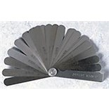 Jensen Tools Feeler Gauge, 13 Blades