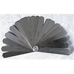 Jensen Tools 3056-0002/14-407 Feeler Gauge, 13 Blades