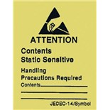 SCS ALABEL Static Awareness Labels (JEDEC/EIA)