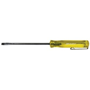 "Stanley 9J66101J66-101-A 1/8"" Slotted Screwdriver - Pocket Clip Style"