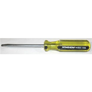 "Jensen Tools 1/4"" Slotted Screwdriver - Regular Style"