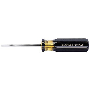"""Jensen Tools 66-178-A 3/8"""" Slotted Screwdriver - Regular Style"""