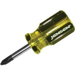 Jensen Tools 9J64105J  64-105-A #2 Phillips Screwdriver - Stubby Style
