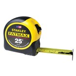 "Stanley 33-725 FatMax® Tape Rule, Inch, 1-1/4"" x 25 ft."