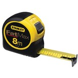 "Stanley 33-726 FatMax™ Tape Measure, Metric, 1-1/4"" x 26 ft./8M"