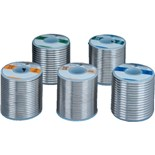 Kester 2470509727 Solder Wire, Rosin Core, Lead Free, Sn96.3Ag3.7, 2.2%, 0.015 in (0.40 mm), 285 Series