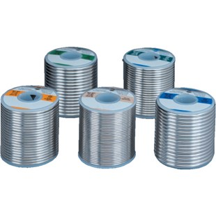 Kester 1463370125 Solder Wire, Solid Core, Leaded, Sn63Pb37, Solid, 0.125 in (3.20 mm), Solid Series