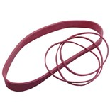 "Botron BE3512 Anti-Static Rubber Bands, Pink, 3-1/2"" x 1/8"", 600/Bag"