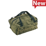 "Jensen Tools Mechanic's Tool Bag, Green, 12"" x 5-1/2"" x 6"""
