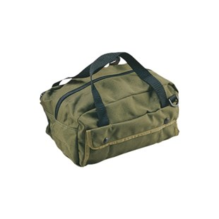 "Jensen Tools 758CA244 Mechanic's Tool Bag, Green, 12"" x 5-1/2"" x 6"""