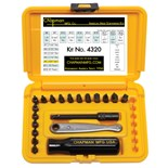 Chapman 4320 20-pc. Standard Ratchet Set