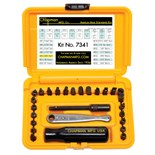 Chapman 7341 Standard Ratchet Set, 27 pc.