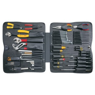 """Jensen Tools 9023B008 Top & Bottom Hinged Pallet with Tools, # F  17.75 x 14.50"""""""