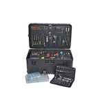 Jensen Tools 9708 Standard/Metric Tool Kit 182 Pc. Wheely