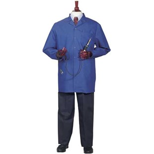 Worklon 3432 Jacket 3/4 Length Jacket, Royal Blue, Large