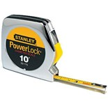 "Stanley 33-115  PowerLock® Pocket Tape Measure with Diameter Scale 1/4"" x 10 ft."