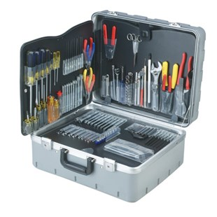 Jensen Tools Inch/Metric Cleanroom Kit in Rota-Tough Case