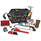 Jensen Tools JTK-1005C HVAC Tool Kit in Open Mouth Bag