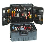 Jensen Tools 9898 Tec-Tuff Deluxe Engineer Tool Kit W/ Wheels