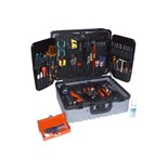 Jensen Tools 9454 Electronic Service Master Tool Kit in Gray Case