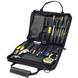 Jensen Tools General Electronic Service Kit in Black Ballistic Nylon Case