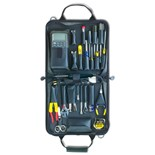 Jensen Tools General Electronic Service Kit in Gray Cordura Case