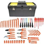 Jensen Tools Electrician's Insulated Tool Kit JTK®-13483