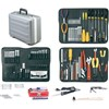 Jensen Tools JTK-17DXP3 Inch/Metric Tool Kit in Deluxe Poly Case, Gray