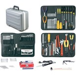 Jensen Tools Inch/Metric Tool Kit in Deluxe Poly Case, Gray