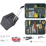 "Jensen Tools Kit in 10"" Deep Super-Roto Case"