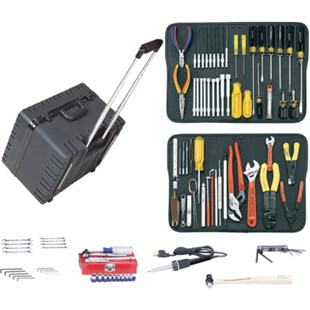 "Jensen Tools JTK-17HR Kit in 10"" Deep Super-Roto Case"