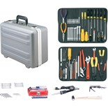 Jensen Tools Kit in Gray Deep Deluxe Poly Case