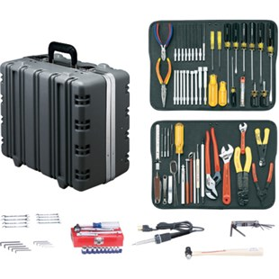 Jensen Tools JTK-17LSTB Kit in Black Super Tough Case