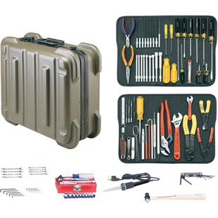 Jensen Tools Kit in Olive Rugged Duty Poly Case