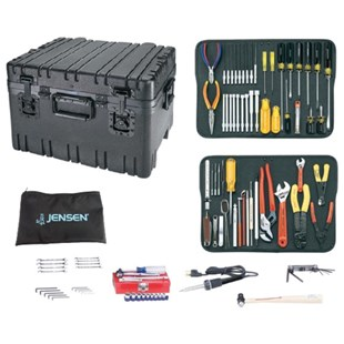 Jensen Tools Kit in Roto-Rugged™ Wheeled Recessed Latch Case