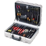 Jensen Tools JTK-17STME Metric Kit in Super Tough Case w/ 220V Iron