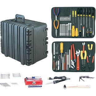 "Jensen Tools JTK-17WT Kit in 8"" Roto-Rugged™ wheeled case"