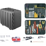 "Jensen Tools JTK-17DRRT Kit in X-tra Rugged Rota-Tough Case 8"" Deep"