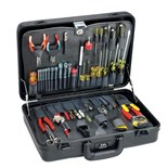 Jensen Tools Technician's Service Kit with Slimline Poly Attache Case